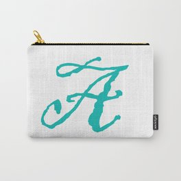 """A"" // Initals // Monograms // Names Carry-All Pouch"