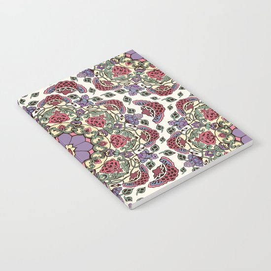 Deco Floral Notebook