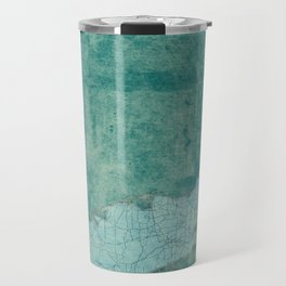 Florida State Map Blue Vintage Travel Mug