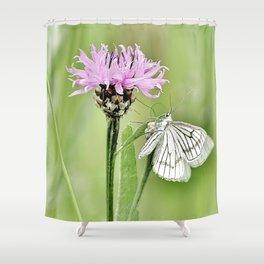 In my little world Shower Curtain