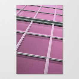 Magenta Reflections Canvas Print