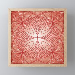 The Root Chakra Framed Mini Art Print