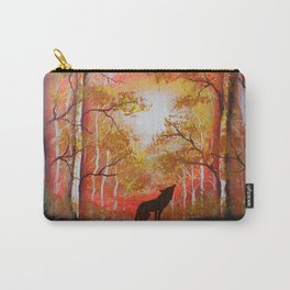 Howling Into The Woods Carry-All Pouch