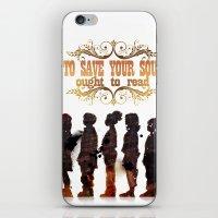 read iPhone & iPod Skins featuring Read by Ƃuıuǝddɐɥ-sı-plɹoʍ-ɹǝɥʇouɐ