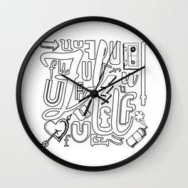 Color-FU-l Wall Clock
