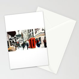 London in Winter Stationery Cards