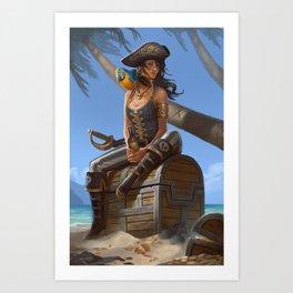 Kidds Treasure Art Print