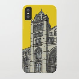 The Natural History Museum, London iPhone Case