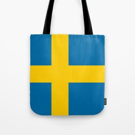 Flag of Sweden - Authentic (High Quality Image) Tote Bag