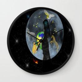 Birth of a Phoniex Wall Clock