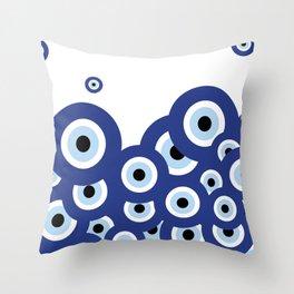 Multi-eyed Throw Pillow