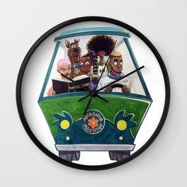 Melanin Machine Wall Clock
