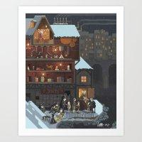 Scene #13: 'The Toy Maker' Art Print