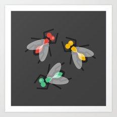 No Flies On Me Art Print