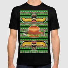 Alaska Burger Mens Fitted Tee X-LARGE Black