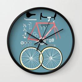Bike Bits Wall Clock