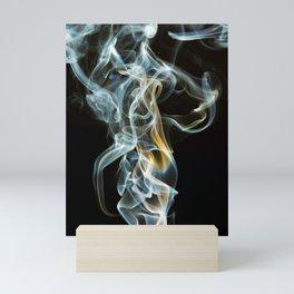 Smoke Design Art Mini Art Print