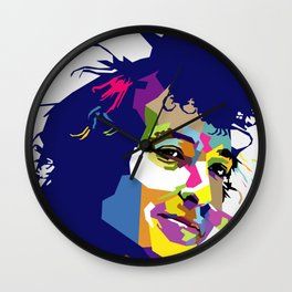 Bob Dylan WPAP Wall Clock