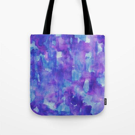 Blue & Purple Tote Bag