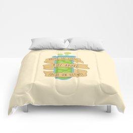 Break the Cycle Morty Comforters