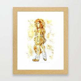 Coffee  Hero Framed Art Print