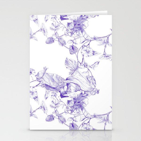 Jeweled Botanist Stationery Cards