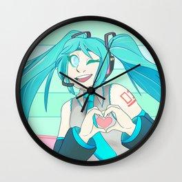 Miku, Miku, oo-ee-oo Wall Clock
