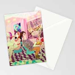 Vacancy_American_50s_vintage_Psychedelic Stationery Cards