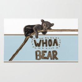 Whoa Bear Rug