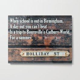 Birmingham Street Rhyme #3 Metal Print