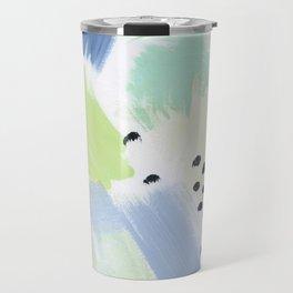 Happy Storm Blue Fern Travel Mug