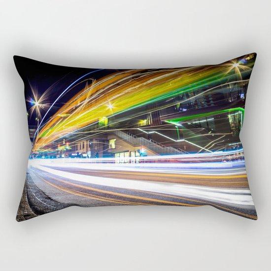 Light Trails 1 Rectangular Pillow