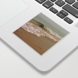 Ocean Waves on the Beach Sticker