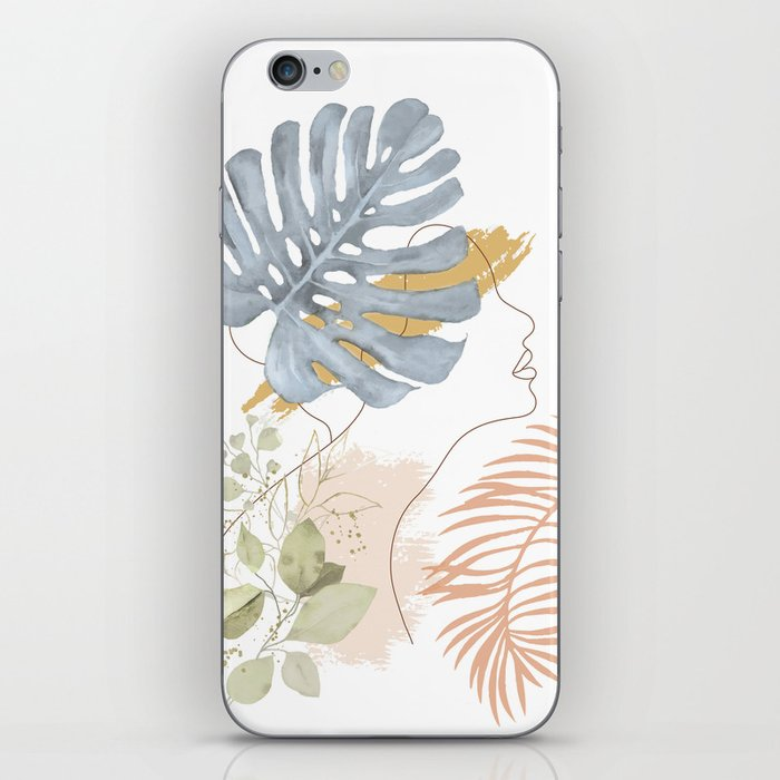 Line in Nature III iPhone Skin