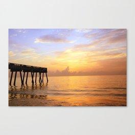 Sunrise on Vero Beach Canvas Print