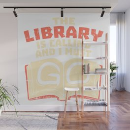 Books Library Gift Wall Mural