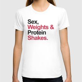 Protein Shakes Gym Quote T-shirt