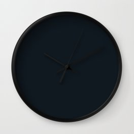 Jacksonville Football Team Black Solid Mix and Match Colors Wall Clock