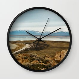 Salt Lake Wall Clock