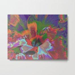 Extreme Gladiolus Metal Print