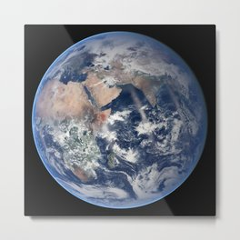 2014 NASA Blue Marble Metal Print