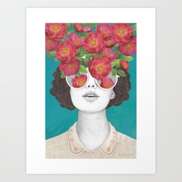 The optimist  Art Print Art Print