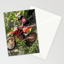 High Flying Racer - Motocross Champ Stationery Cards