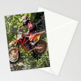 High Flying Racer - Motocross Champ Stationery Cards