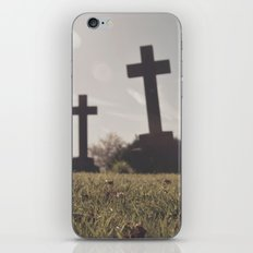 it's so depressing when people die in real life... iPhone & iPod Skin