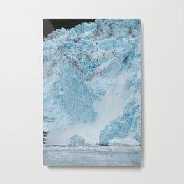 Icy Thunder Metal Print
