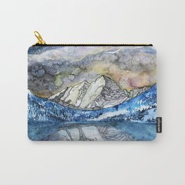 The Maroon Bells Meets  the Sky Carry-All Pouch