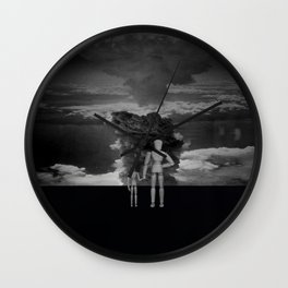 Whats wrong with the clouds ? Wall Clock