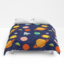 Planet Party Comforters