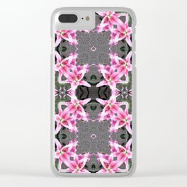 "PATTERN ""LILY STARGAZER"" 3 Clear iPhone Case"